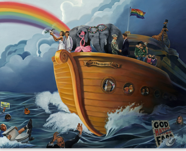 Noah's Gay Wedding Cruise, Marriage Evolved Edition